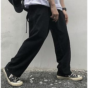 Autumn Corduroy Casual Baggy Pants, Men Clothing Joggers, Streetwear Work