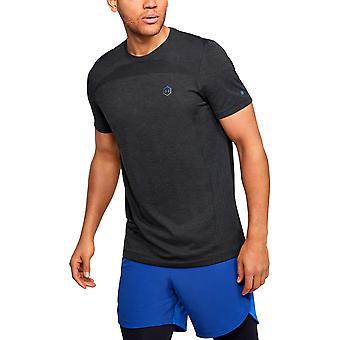 アンダーアーマーラッシュHGシームレスフィット1351448001は、すべての年の男性Tシャツを実行しています