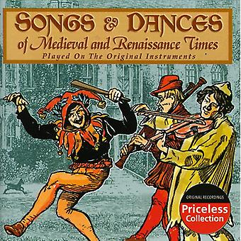 Songs & Dances of Medieval & Renaissance Times - Songs & Dances of the Medieval and Renaissance Times [CD] USA import