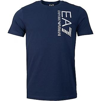 EA7 Emporio Armani Train Logo Series Satin T-Shirt