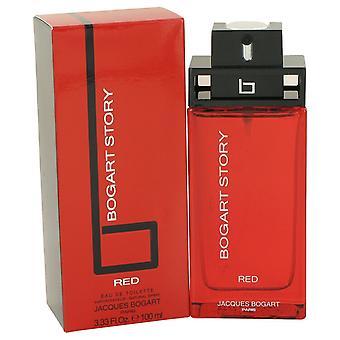 Bogart Story Red by Jacques Bogart Eau De Toilette Spray 3.4 oz / 100 ml (Men)