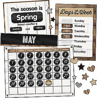 Industrial Chic Calendar Bulletin Board Set
