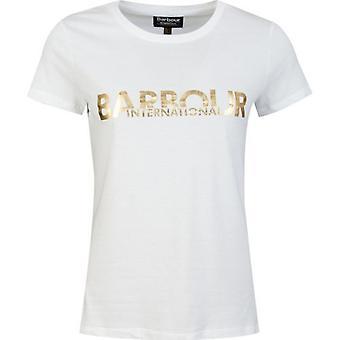 Barbour International Delta Foil Logo T-Shirt