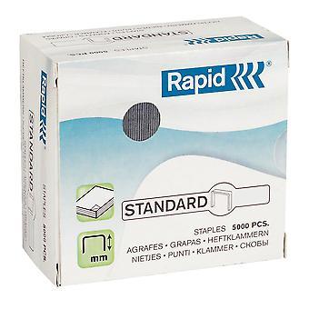 Rapid Staples 66/6 - Pack of 5000