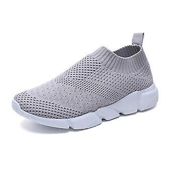 Mesh Platform Slip-on, Soft Running Casual, Sock Sneakers