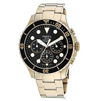 Fossil Men's FB-03 Black Dial Watch - FS5727