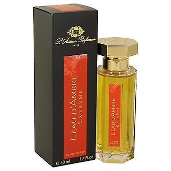 L'eau D'ambre Extreme Eau De Parfum Spray By L'Artisan Parfumeur 1.7 oz Eau De Parfum Spray