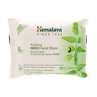 Purifying Neem Facial Wipes 25 units