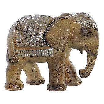Decoratief figuur Dekodonia Resin Elephant (25 x 14 x 20 cm)