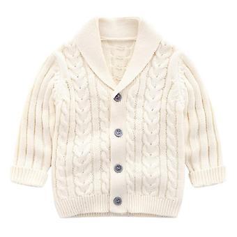 Afslappet forår Cardigan Sweater / Frakke til skolebørn