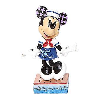 Disney Perinteet Minnie Hiiri 'Sassy Sailor' Figurine