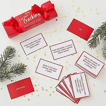 Christmas Cracker Trivia Game For Adults - Secret Santa