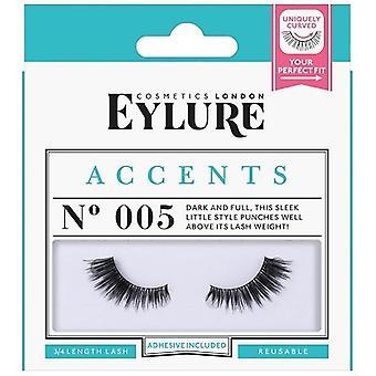 Eylure Postizas Accents Eyelashes Nº005 3/4