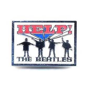 Beatles hjälp! nya officiella Metal Pin badge