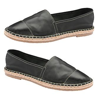 Ravel Bargo Leather Slip-On Shoes Size 4 - Black Colour