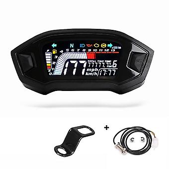 Motorcycle Universal Lcd Cylinder Speedometer