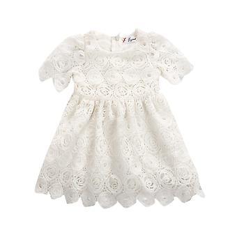 Baby Dress, Princess Floral Lace Dress