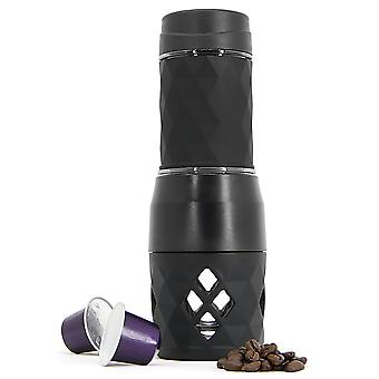 2 In 1 Portable Espresso Maker | Nespresso Compatible | Pukkr