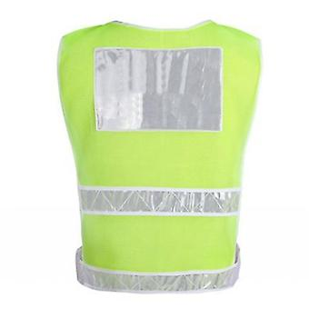 Reflective Vest Highlight Road Traffic Construction Safety Clothing Sanitation Workers Vest Night Riding