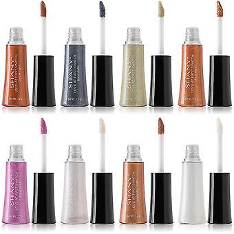 SHANY Love at First Swatch Liquid Eyeshadow Set - 8-piece Long-Lasting Cream Metallic, Shimmer and Glitter Eye Shadow Makeup Kit