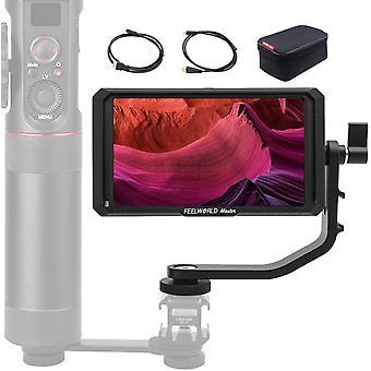 FengChun Master MA5 Kamera Monitor 5 Zoll DSLR Feldmonitor 4K Externer Feldmonitor Video 1920x1080