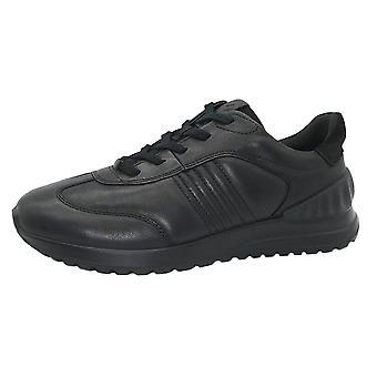 ECCO Ecco 503704 Astir Lite Men's Casual Leather Shoe In Black