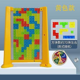 משחק טטריס אינטליגנציה עצמאית צבעוני פאזל טיזרים צעצועים Fidget צעצועים | אסטרטגיה משחקים