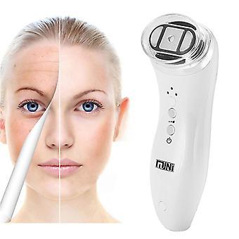 Ultrasónico RFRadio Frecuencia Mini Hifu Lifting Facial SkinTightening Machine Anti Wrinkle Face Rejuvenation Beauty Care