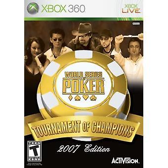 World Series of Poker Tournament of Champions Xbox 360 Game (#)