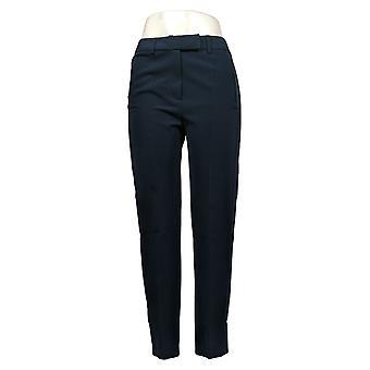 G by Giuliana Women's Pants Classic Gabardine Trouser Blue