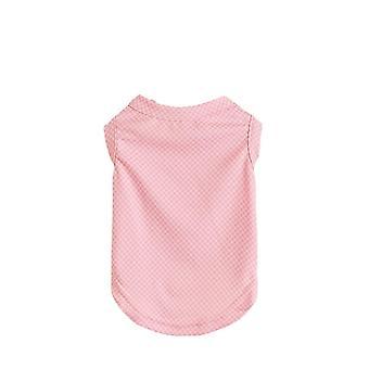 Cat clothes pet t-shirt short sleeve summer breathable vest