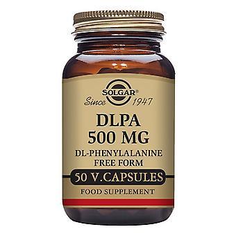 DLPA (DL-Phenylalanine) Solgar 500 mg (50 kapsler)
