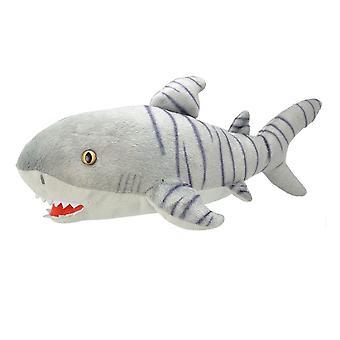 Todo sobre el tiburón tigre de la naturaleza 40cm Felpa