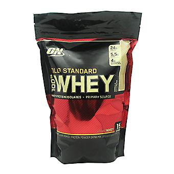 Optimum Nutrition 100% Whey Gold, Vanilla Ice Cream 1 lbs