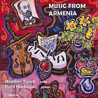 Artiunian / Babajanian / Stepanian - Music From Armenia for Cello & Piano [CD] USA import