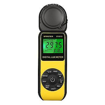 Medidor de lux digital de luxómetro portátil lux/fc fotometro de medición de fotometro