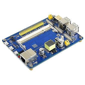 Compute module io board with poe feature composite breakout board for raspberry pi cm3 / cm3l / cm3+ / cm3+l