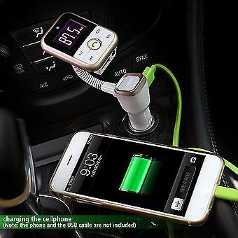 Wireless Bluetooth Lcd Fm Transmitter Modulator Auto Kit Mp3 Player USB + Fernbedienung