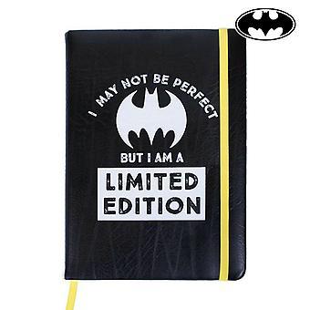 Notebook with Bookmark Batman A5 Black