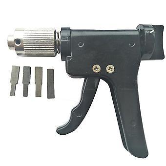 Cerradura torno de pico pistola rápida herramientas de alta calidad nuevo enchufe civil hilandera trabajo de cerrajería