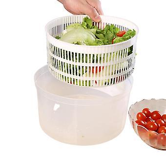 Ensalada Deshidratante Cesta Fruta Vegetal Drenador Plástico Manual Papeleras De Lavado