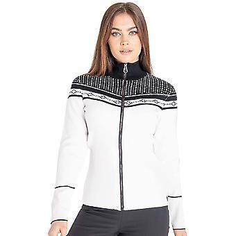 Tør 2b Kvinders Bejewel Jacquard Strik Fuld Zip Sweater