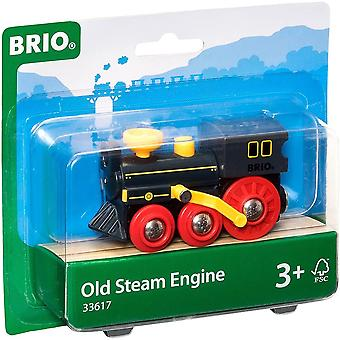 Brio 33617 Brio Gamle Dampmaskine - Træ Railway