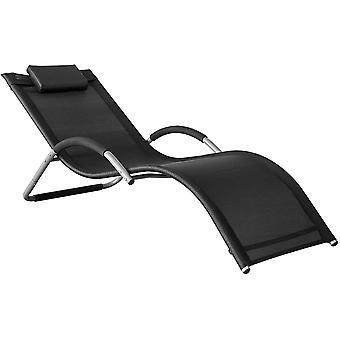 SoBuy Silla de brazo relajante negro OGS38-SCH