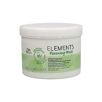 Hårmaske elementer fornye Wella (500 ml)