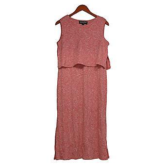 Brittany Humble Women's Dress Reg Overlay Midi Pink 742809