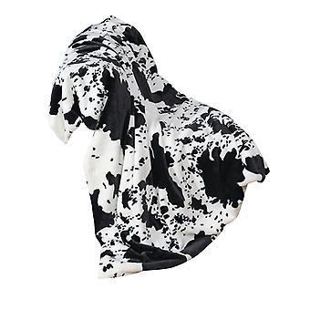 YANGFAN Cow Print Sofa Wurf Decke