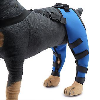 Evago Dog spate Picior Hock Brace, pereche de Canine Dog Picior joint Wraps compresie Brace protejeaza ranile, vindecă și previne leziunile și entorse ajută Wit
