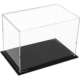Caixa de exibição transparente de pó protetor de acrílico para bonecas de brinquedo