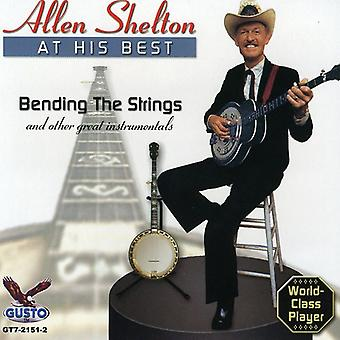 Allen Shelton - At His Best [CD] USA import